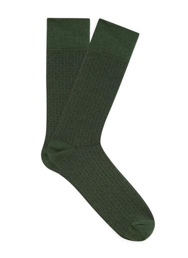 Mavi Çorap Yeşil